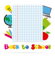 icons of education vector image vector image