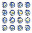 Collect Applications Icons vector image
