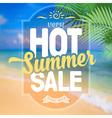 Summer sale vector image vector image