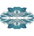 Abstract art clothing fashion design vector image