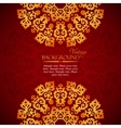 Elegant mandala indian invitation template vector image