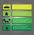 Info graphics modern abstract elements vector image