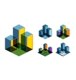 Real Estate logo design template Business or vector image