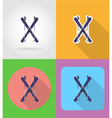 sport flat icons 14 vector image