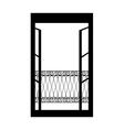 icon Window vector image