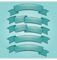 Banners or ribbons set vector image