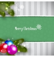 Christmas Retro Background vector image