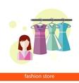Fashion Store vector image