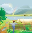 ranch vector image