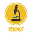 Science design vector image