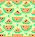 watermelon pattern vector image