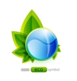 eco nature concept vector image