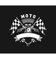 Motorcycle Badge vector image