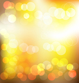 Gloden elegant abstract background with bokeh vector image