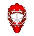 Goalie helmet vector image