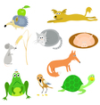 set of animals EPS10 vector image