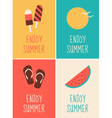 Enjoy Summer Collection vector image vector image
