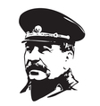Joseph Stalin vector image vector image