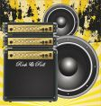 guitar bass amp vector image vector image
