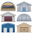 Barns vector image