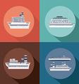 Caribbean Cruise Design vector image