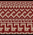 greek mosaics seamless vector image