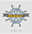 hello summer2 2 vector image