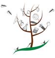 School tree vector image