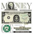 money 1 One vector image vector image