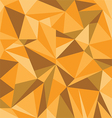 Abstract Orange Triangle Geometrical Background vector image vector image