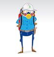 Industry worker uniform vector image