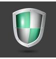 shield icon - vector image