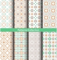 Patterns Pastel Green Backgrounds vector image