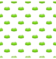Bushes pattern cartoon style vector image