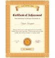 Certificate Template Vertical vector image