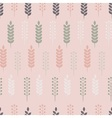 Pastel herb pattern vector image