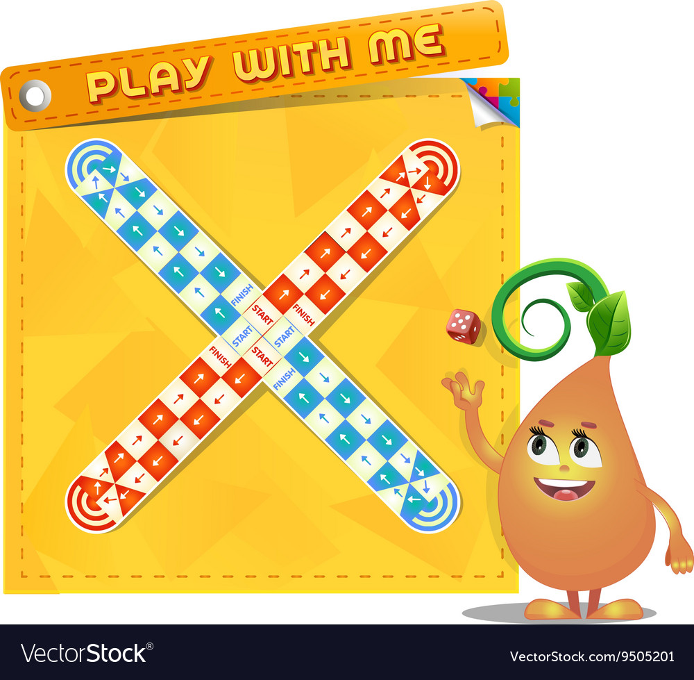 Board game play with me vector