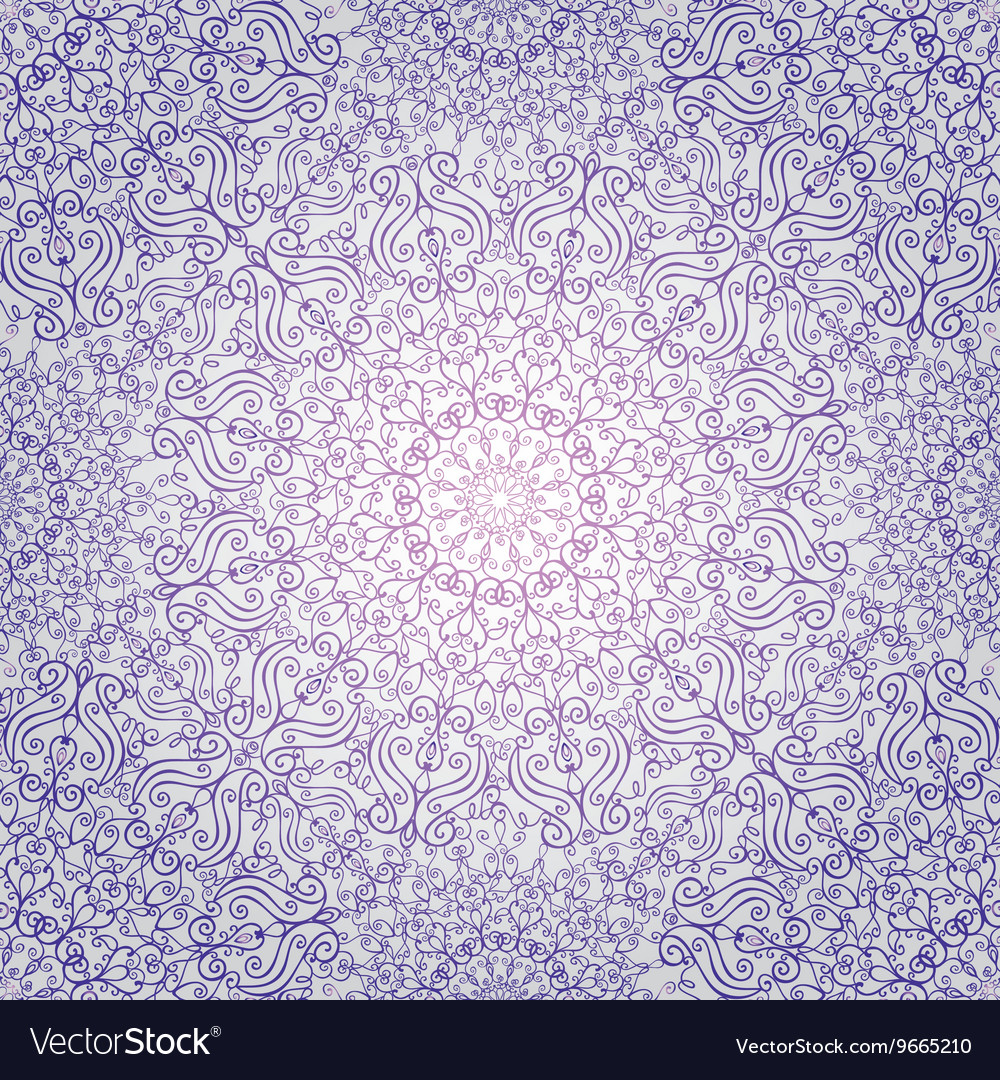 Mandala pattern backgroundswirlsrevivalethnic vector