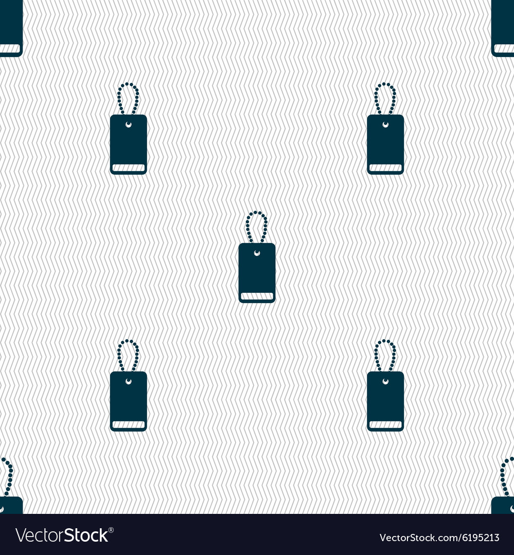 Army chains icon sign seamless abstract background vector