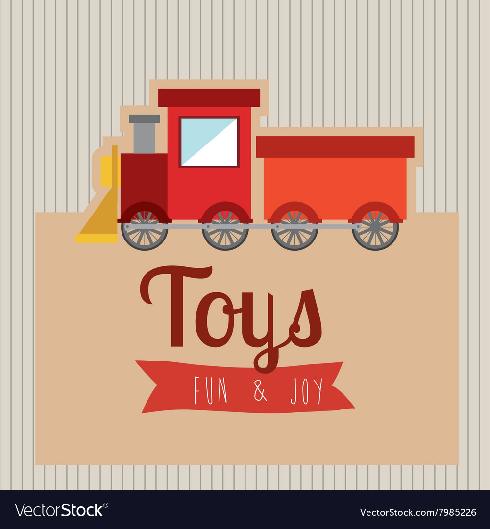 Children toys design vector