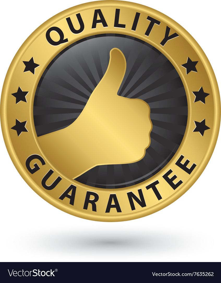 Quality guarantee golden label vector