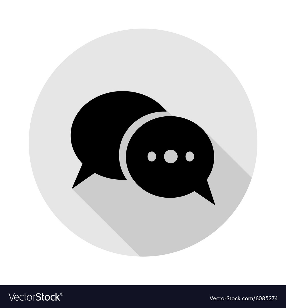 Icon dialogue vector