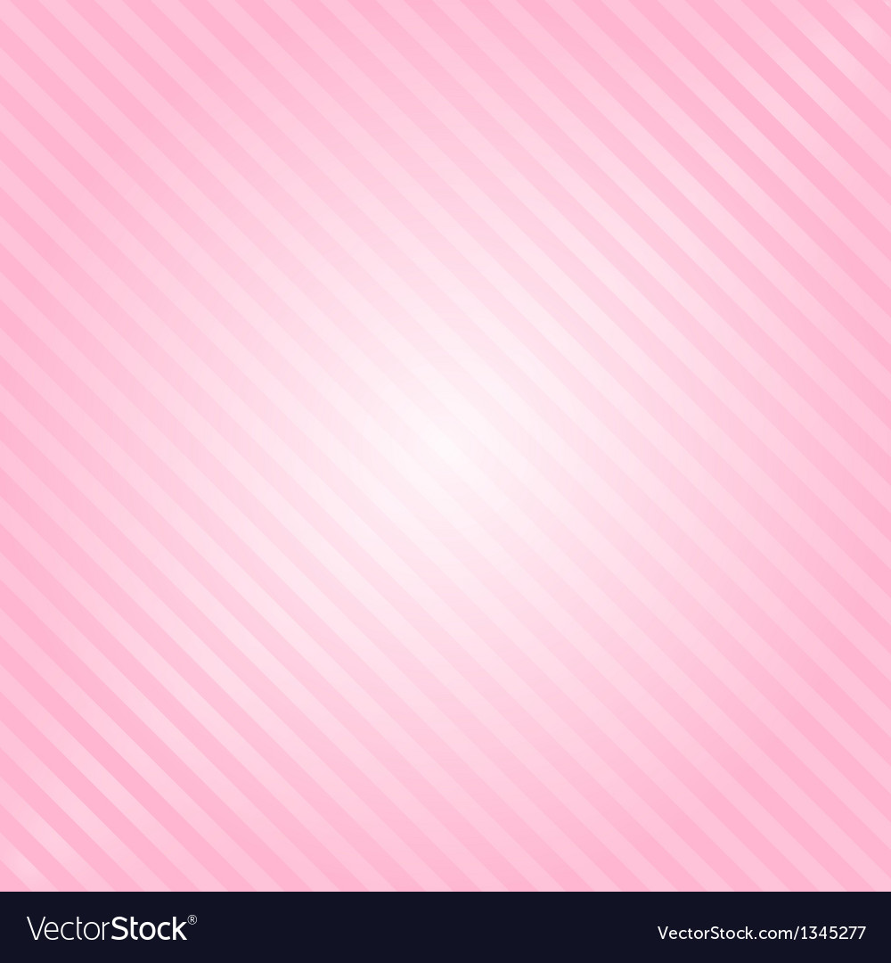 Pink background with stripes vector