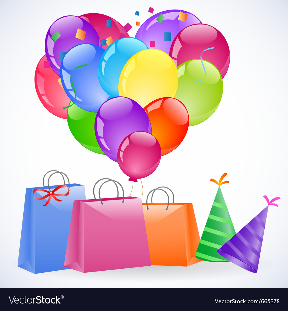 Gift packets vector
