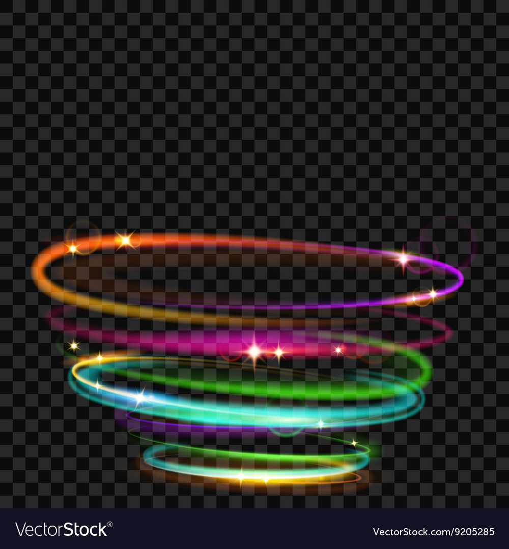 Light effects vector
