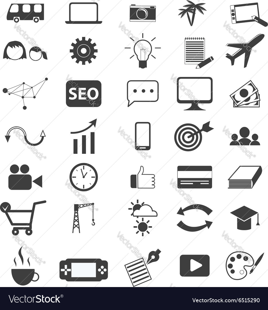 Freelancer icons vector