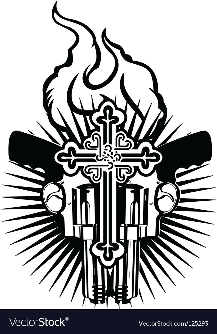Tattoo emblem vector