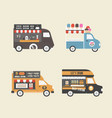 459food truck vector image