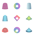 logo design elements set 30 vector image vector image
