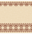 light beige seamless background with border vector image